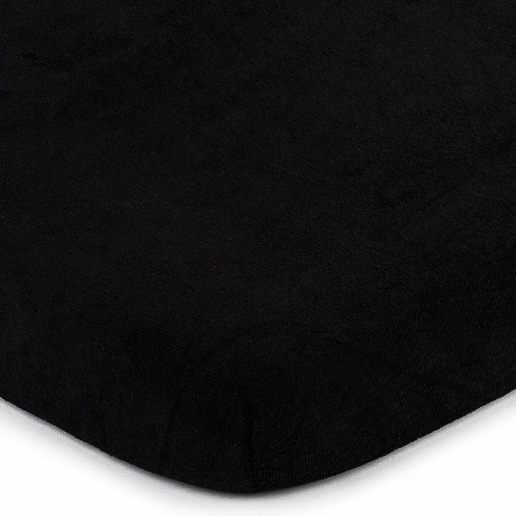 Produktové foto 4Home froté prostěradlo černá, 180 x 200 cm