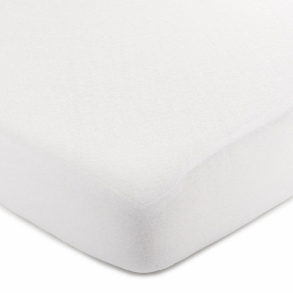 Produktové foto 4Home jersey prostěradlo bílá, 220 x 200 cm