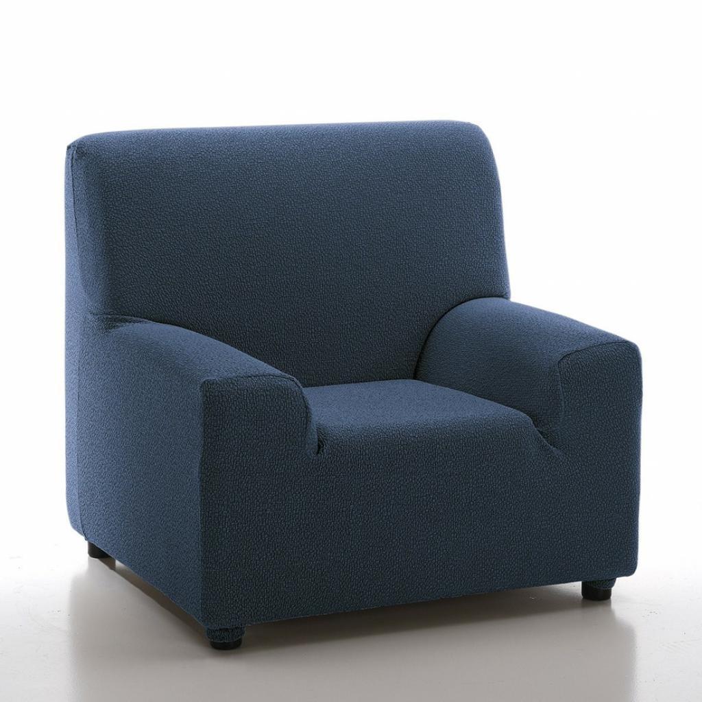 Produktové foto Forbyt Multielastický potah na křeslo Petra modrá, 70 - 100 cm
