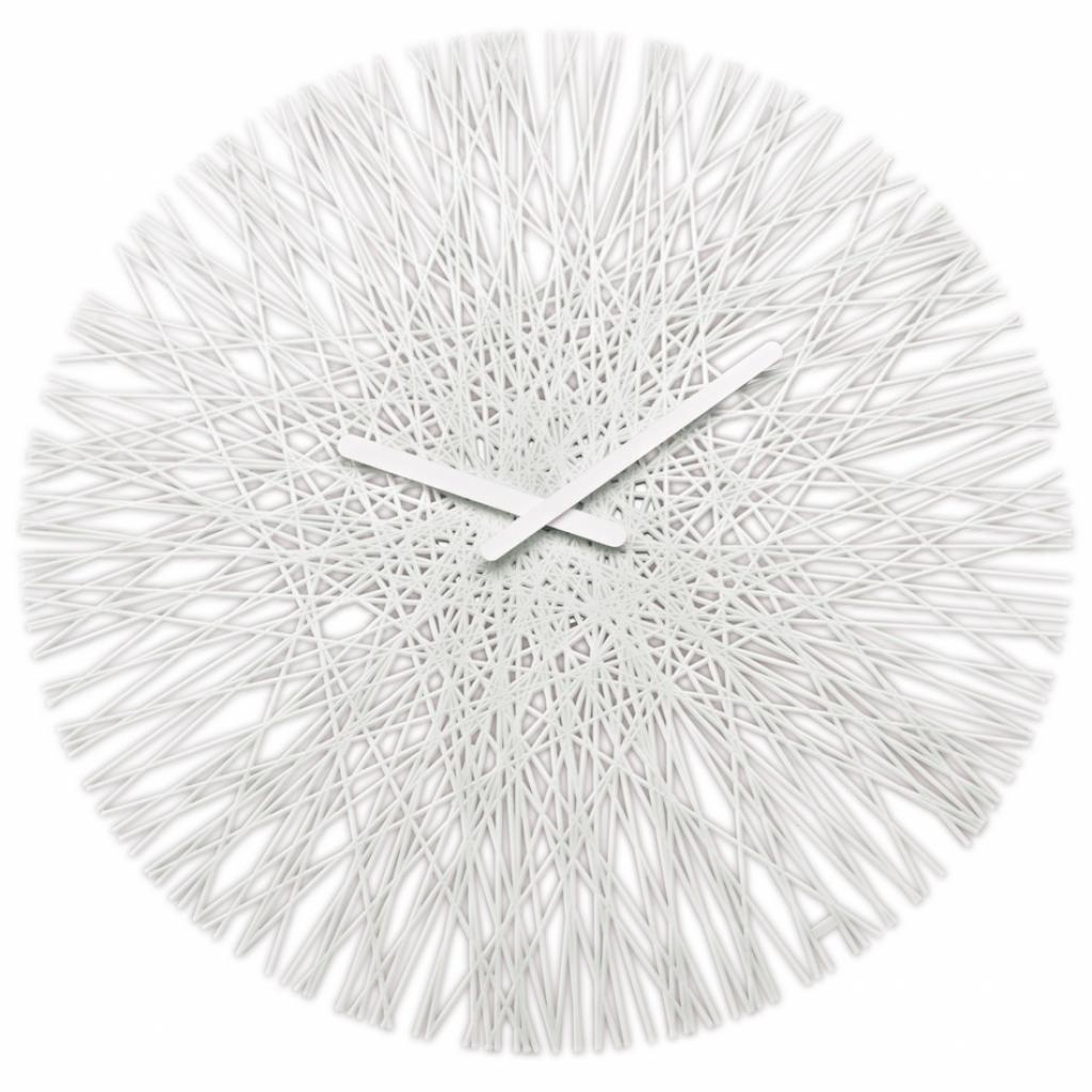 Produktové foto Koziol Nástěnné hodiny Silk bílá, pr. 45 cm