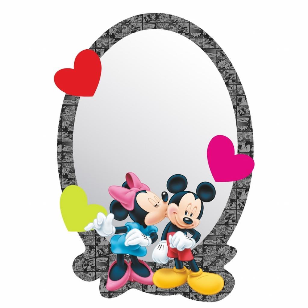 Produktové foto AG Art Samolepicí dětské zrcadlo Mickey & Minnie, 15 x 21,5 cm