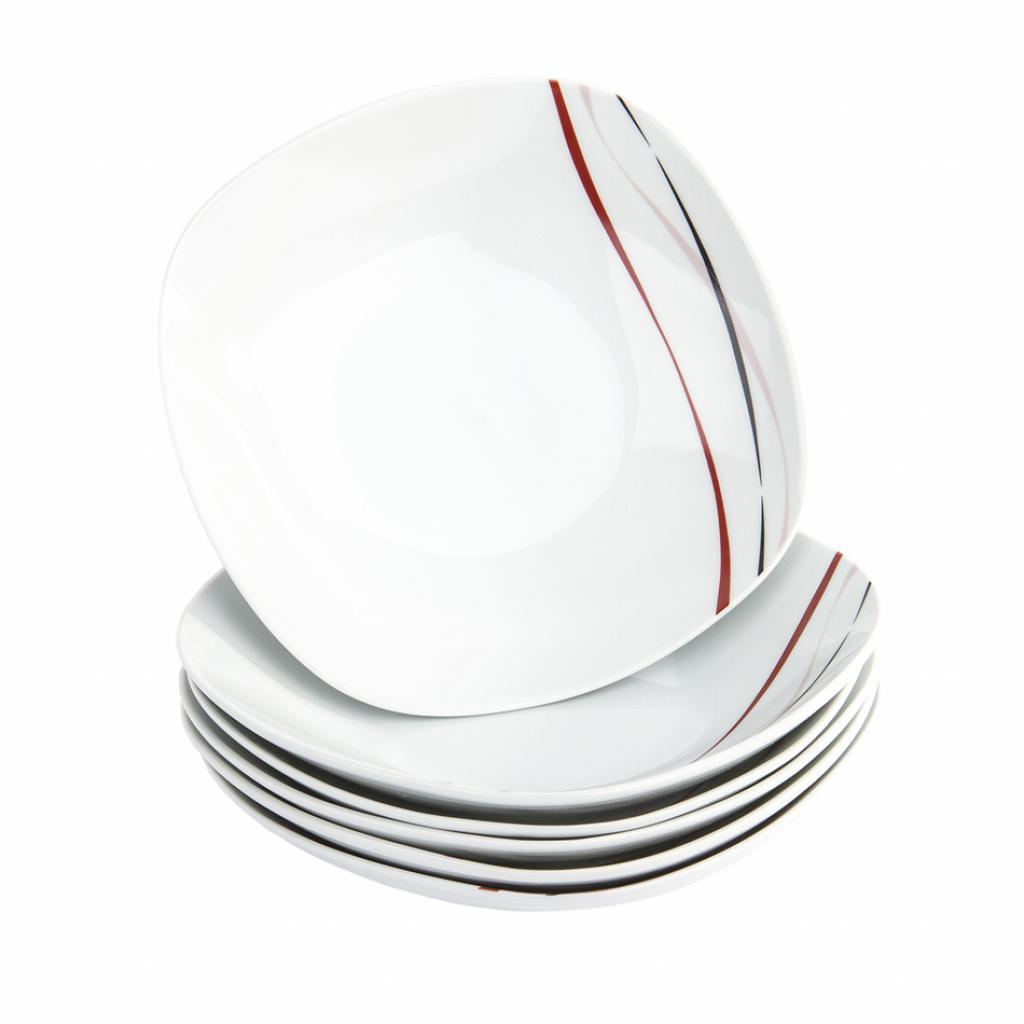Produktové foto Domestic 6dílná sada hlubokých talířů Amelie, 21,5 cm
