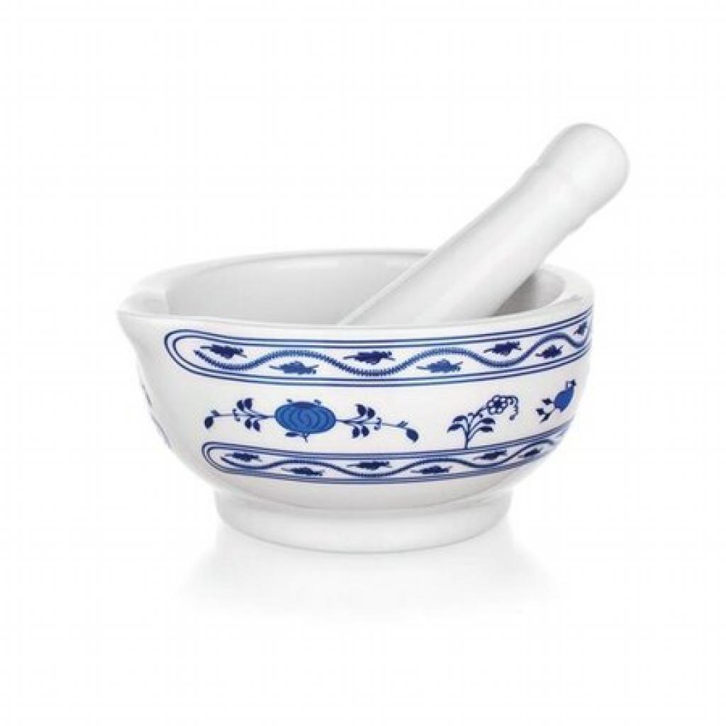 Produktové foto Vcas Hmoždíř keramika cibulák 11,5x6 cm