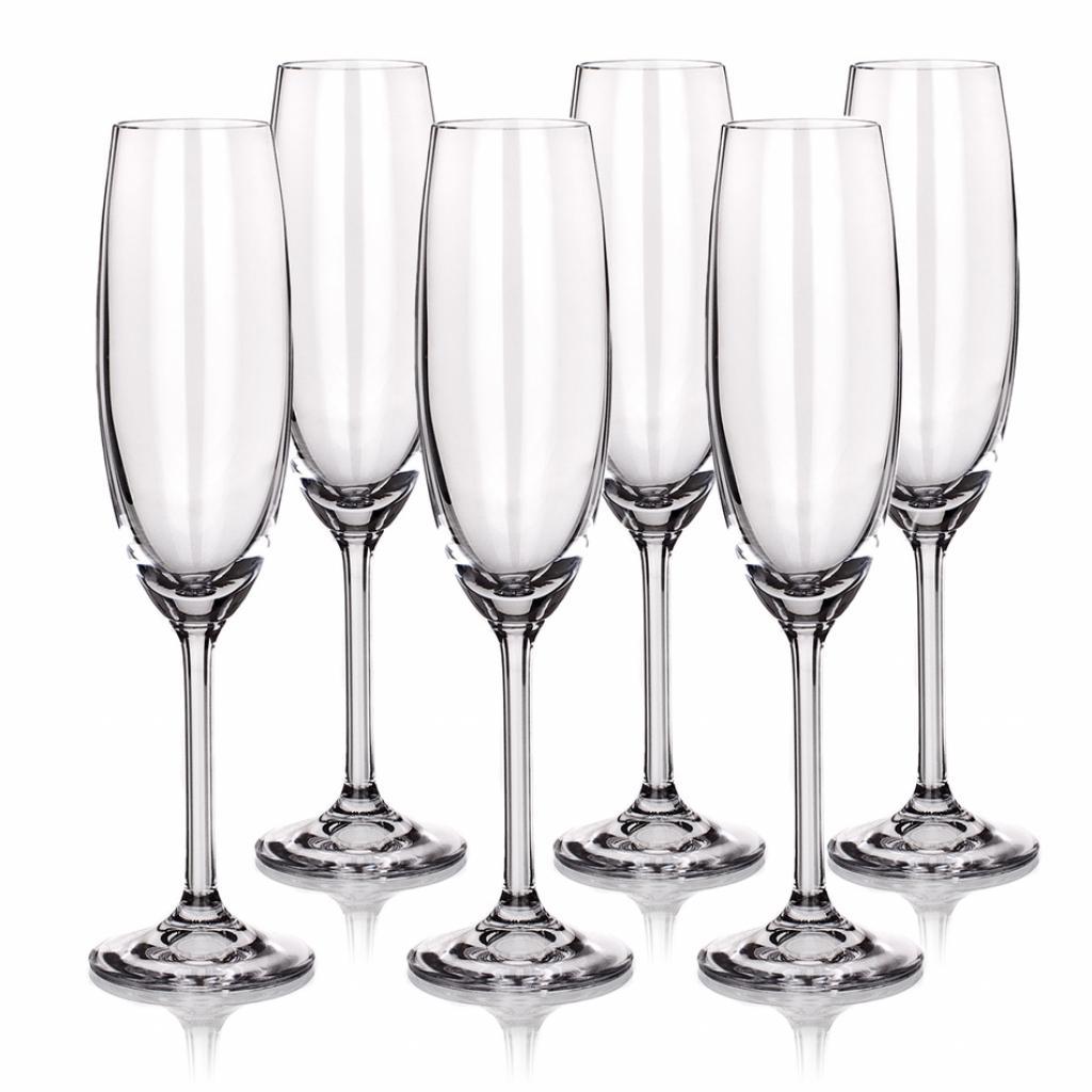 Produktové foto Banquet 6dílná sada sklenic na šampaňské, 220 ml
