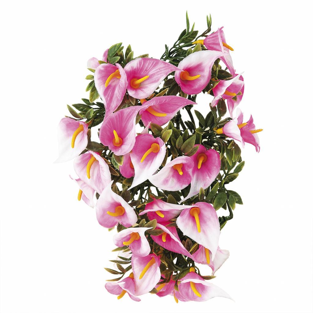 Produktové foto Umělé květiny kala, růžová, 30 cm, HTH