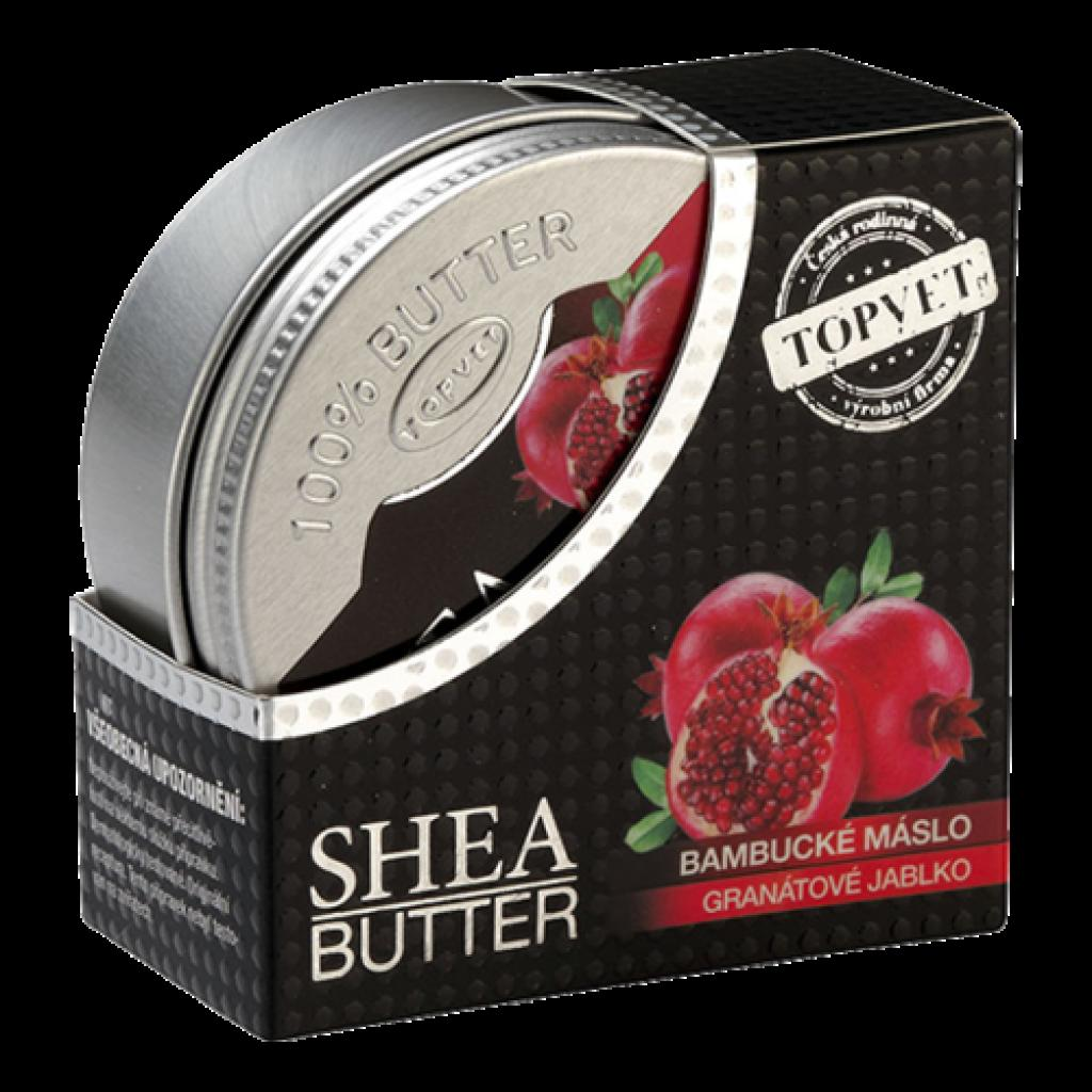 Produktové foto Topvet Bambucké máslo Granátové jablko, 100 ml