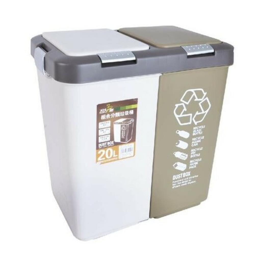 Produktové foto Orion odpadkový koš UH DUO Dust 20 l