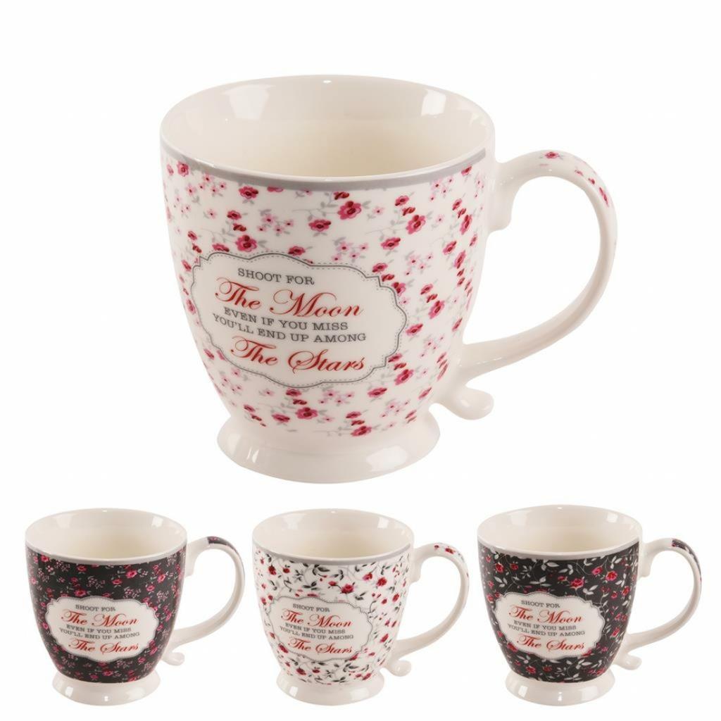 Produktové foto Orion Sada porcelánových hrnků Romantic 450 ml, 4 ks