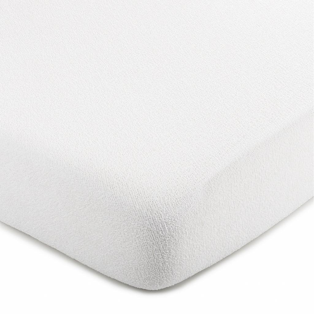 Produktové foto 4Home froté prostěradlo bílá, 90 x 200 cm