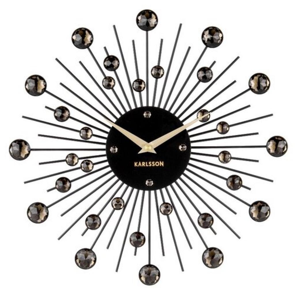 Produktové foto Karlsson 4860BK Designové nástěnné hodiny, 30 cm