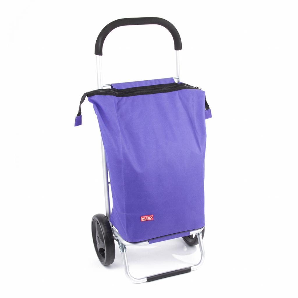 Produktové foto Aldo Nákupní taška na kolečkách Nice, fialová