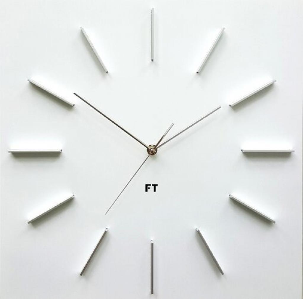 Produktové foto Future Time FT1010WH Square white 40cm Designové hodiny