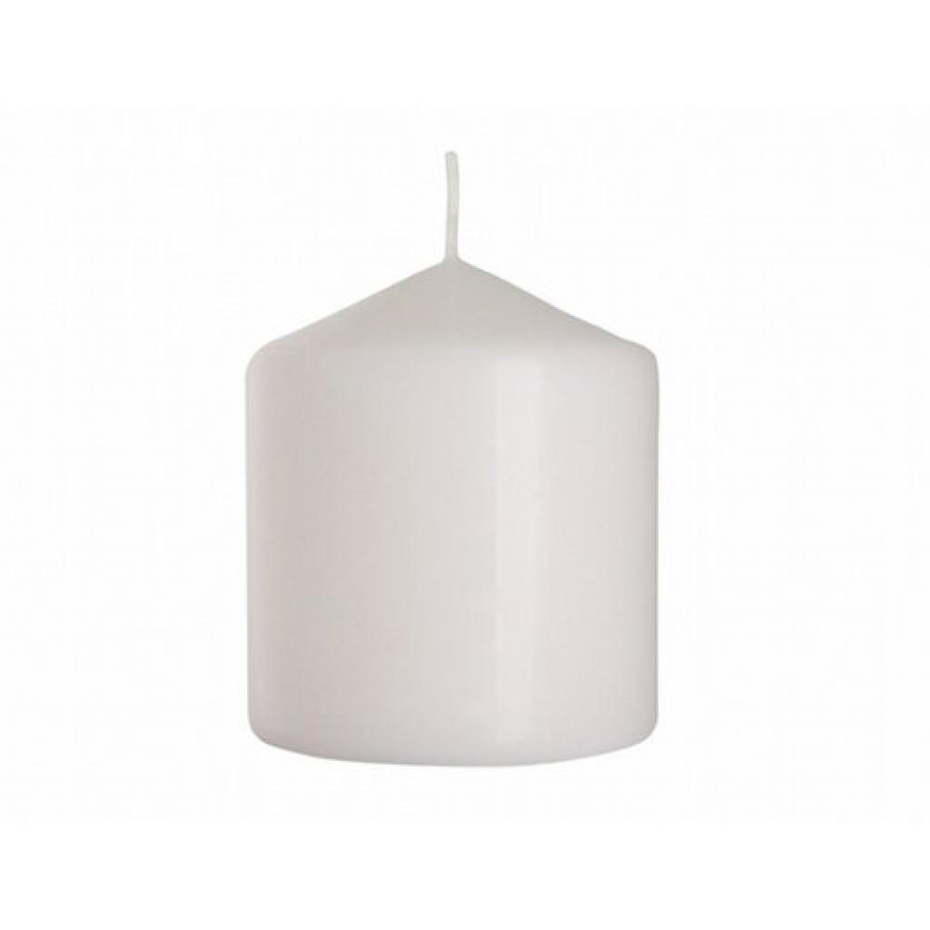 Produktové foto Dekorativní svíčka Classic Maxi bílá, 9 cm, 9 cm