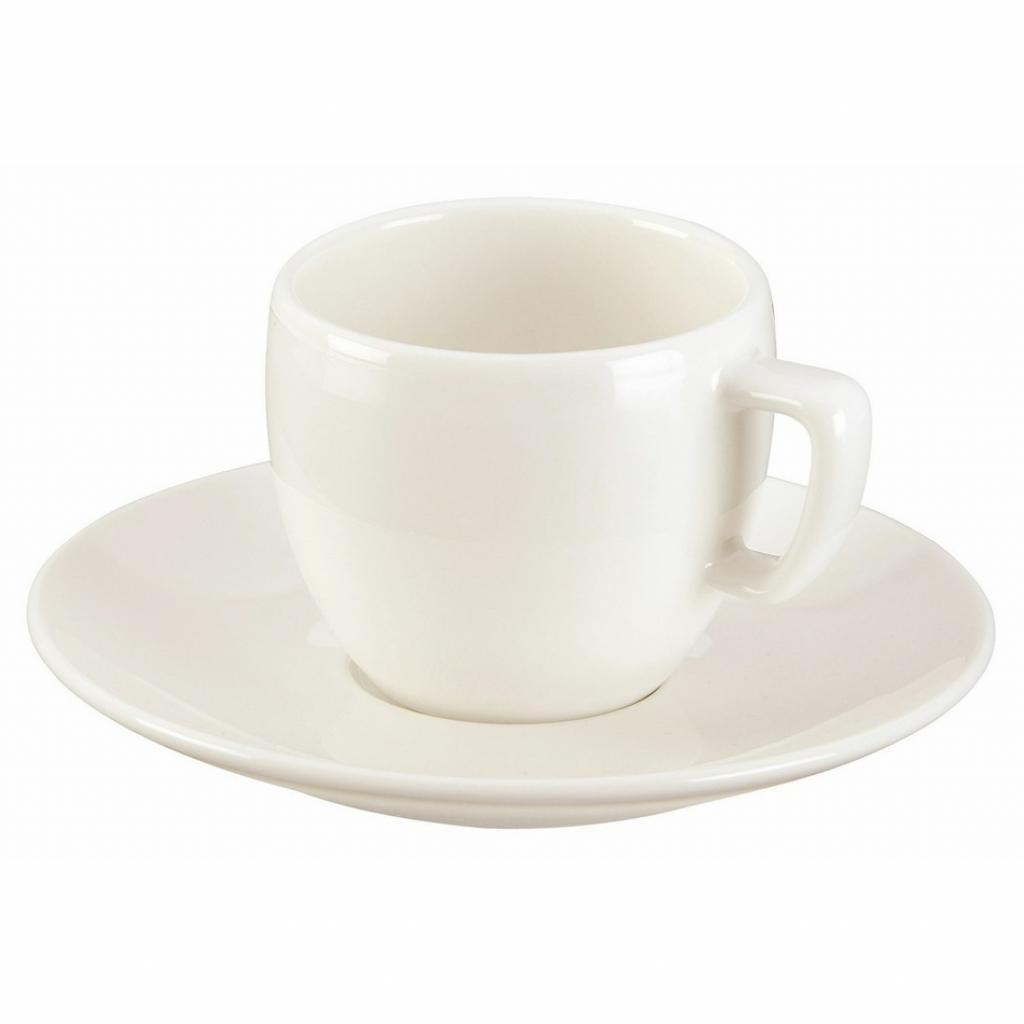 Produktové foto Tescoma Crema Šálek na espresso s podšálkem 80 ml