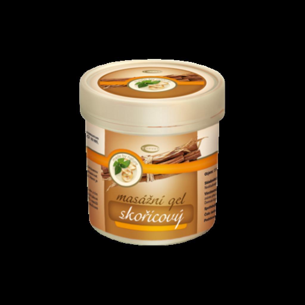 Produktové foto Skořicový masážní gel 250 ml TOPVET