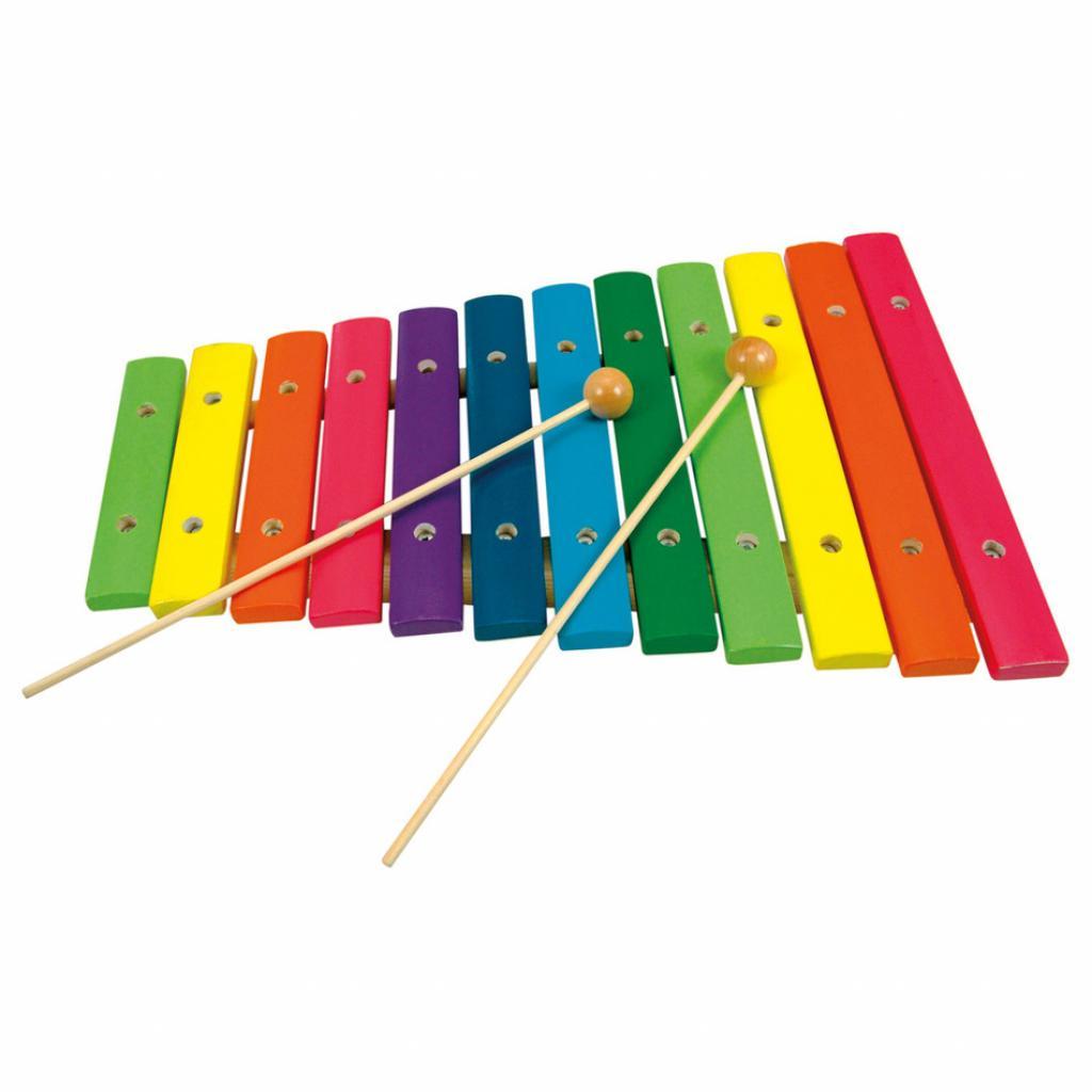 Produktové foto Bino Xylofon-12 tónů