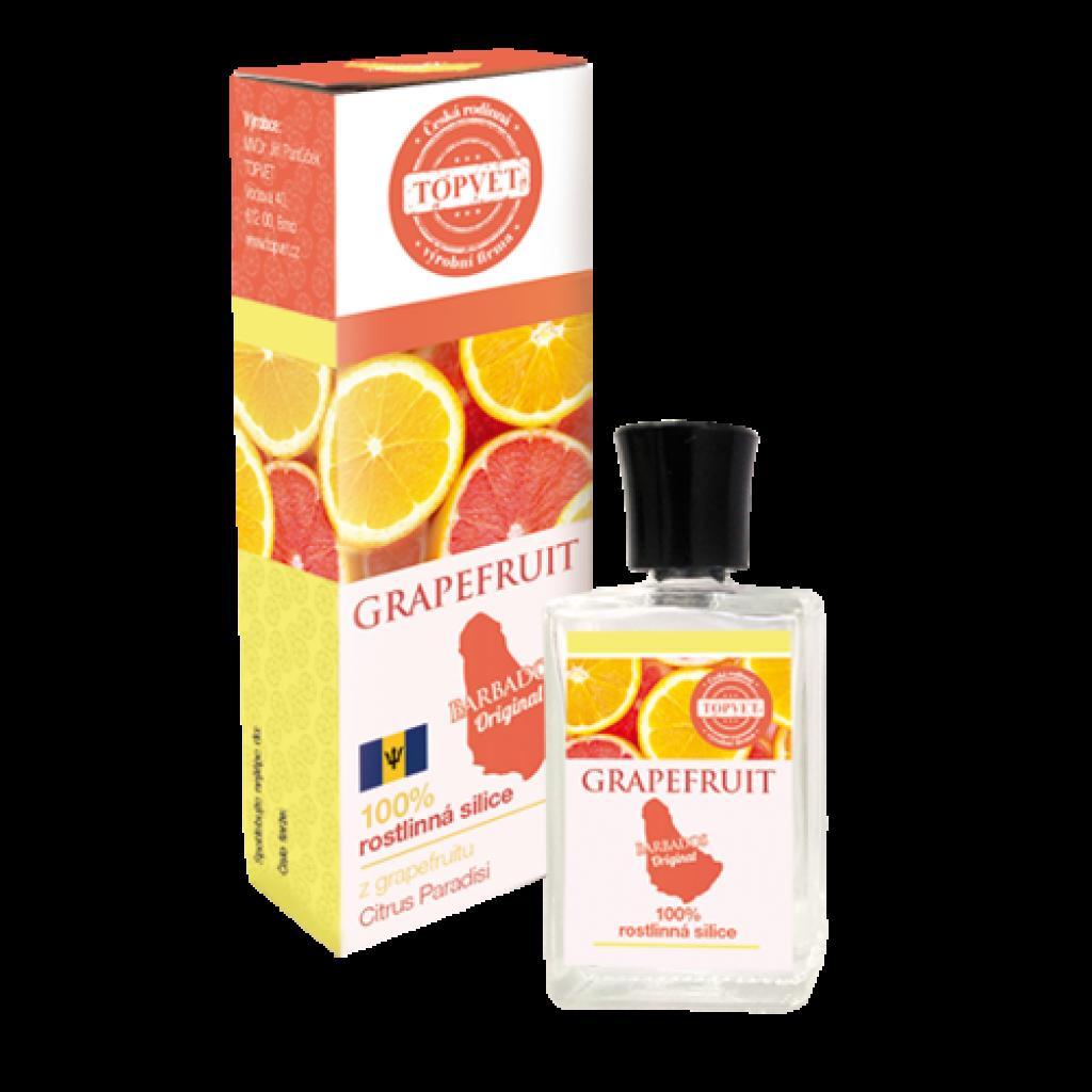 Produktové foto Topvet Grapefruit 100% silice 10 ml