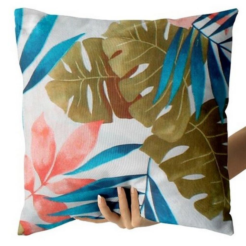 Produktové foto Domarex Povlak na polštářek Pink Leaves, 40 x 40 cm