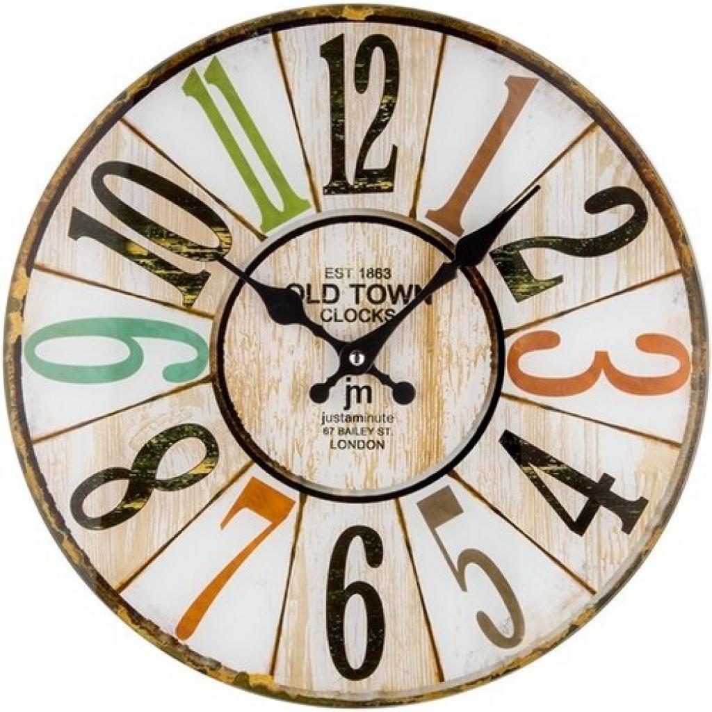 Produktové foto Lowell 14878 nástěnné hodiny, pr. 34 cm