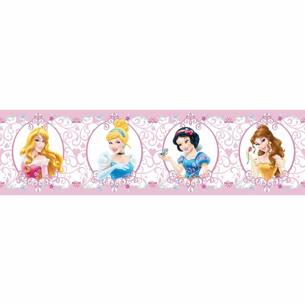 Produktové foto AG Art Samolepicí bordura Princezny, 500 x 14 cm