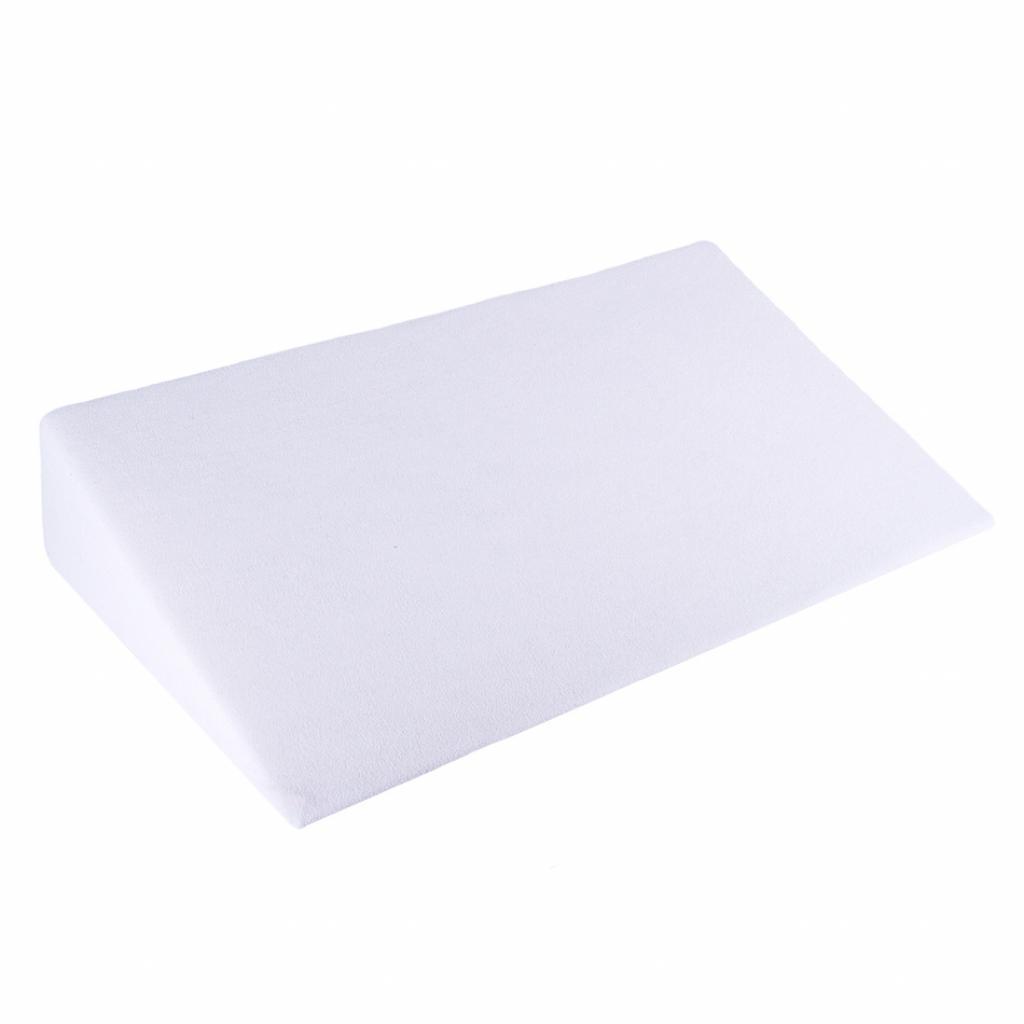 Produktové foto Bellatex Bílý povlak - Klínový podhlavník, 80 x 50 x 20 cm