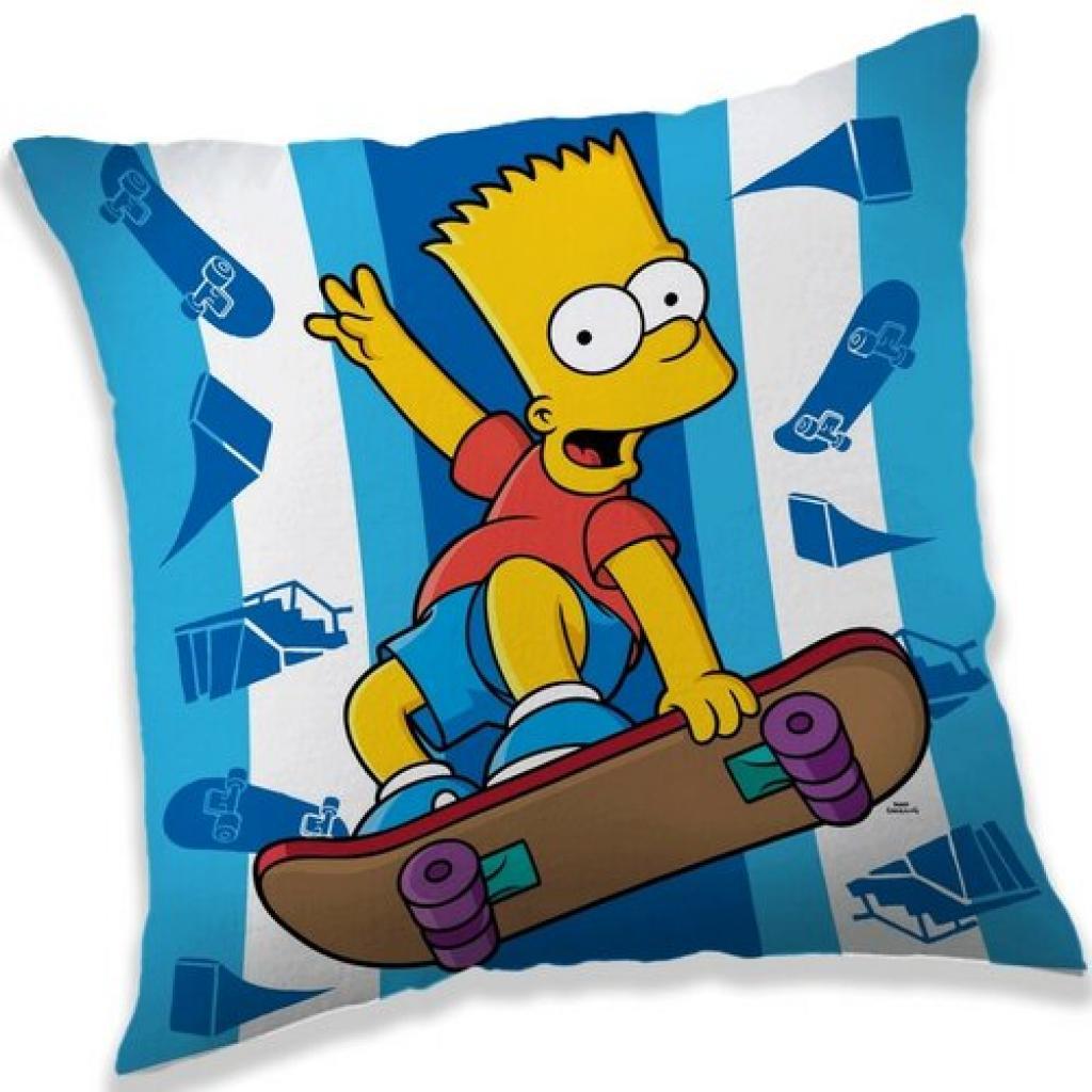 Produktové foto Jerry Fabrics Polštářek The Simpsons Bart skater, 40 x 40 cm