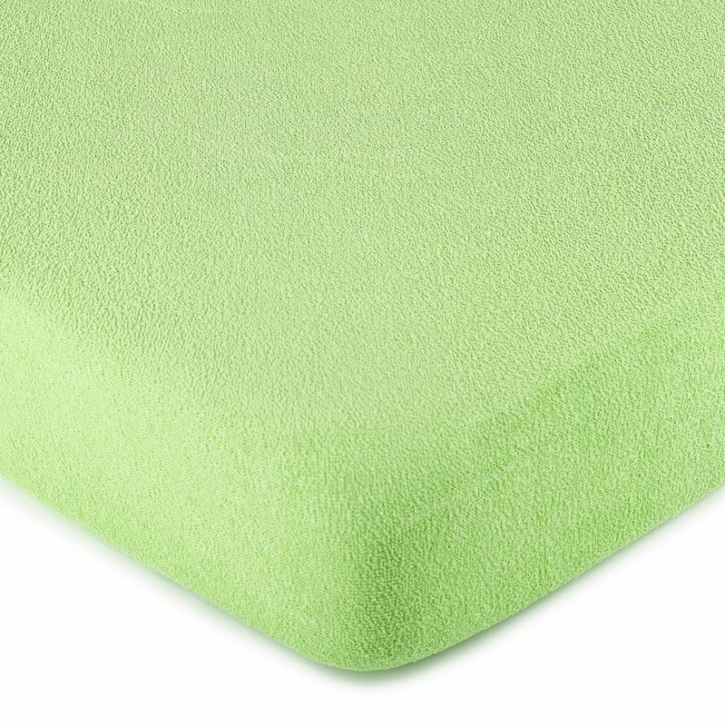 Produktové foto 4Home froté prostěradlo zelená, 160 x 200 cm
