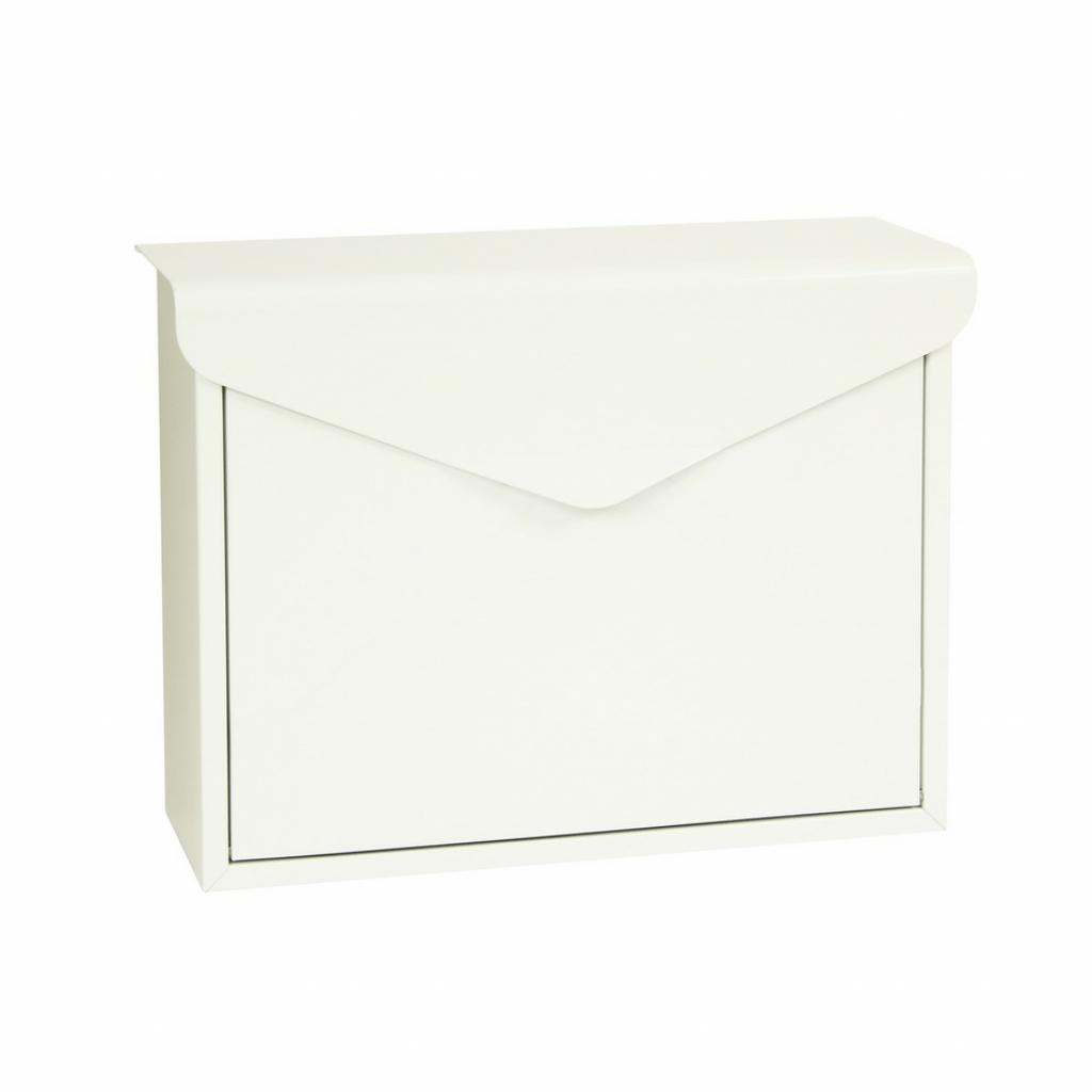 Produktové foto Richter Poštovní ocelová schránka Monza, bílá