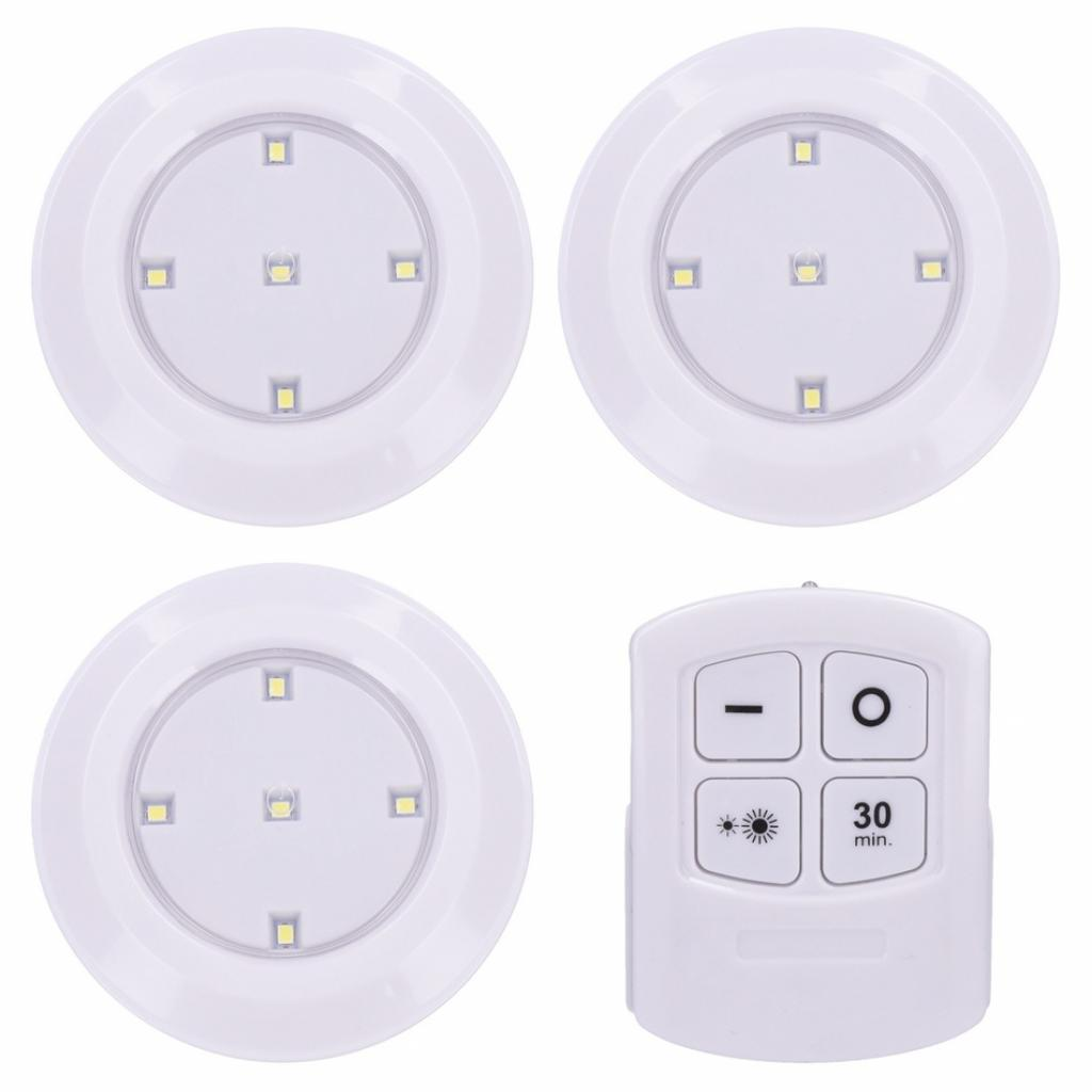 Produktové foto Solight WL906 Sada LED světélek na dálkové ovládání 3 ks, bílá