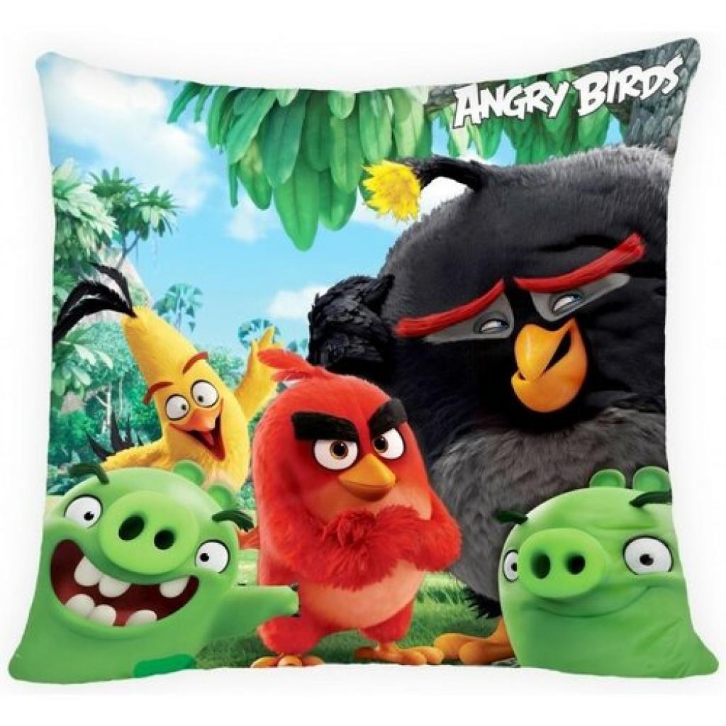 Produktové foto Halantex Polštářek Angry Birds movie, 40 x 40 cm