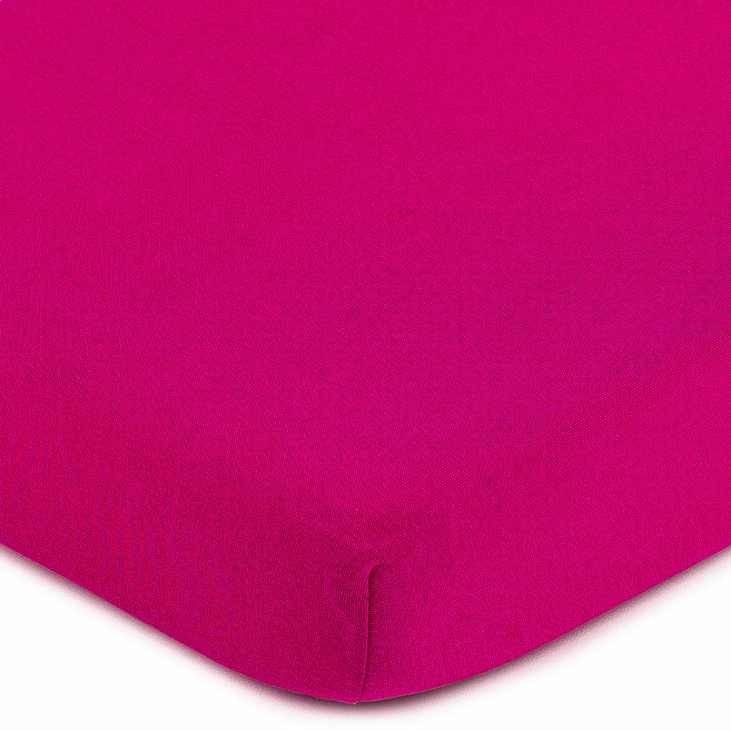 Produktové foto 4Home jersey prostěradlo růžová, 90 x 200 cm