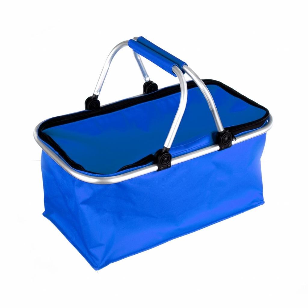 Produktové foto Nákupní skládací košík modrá