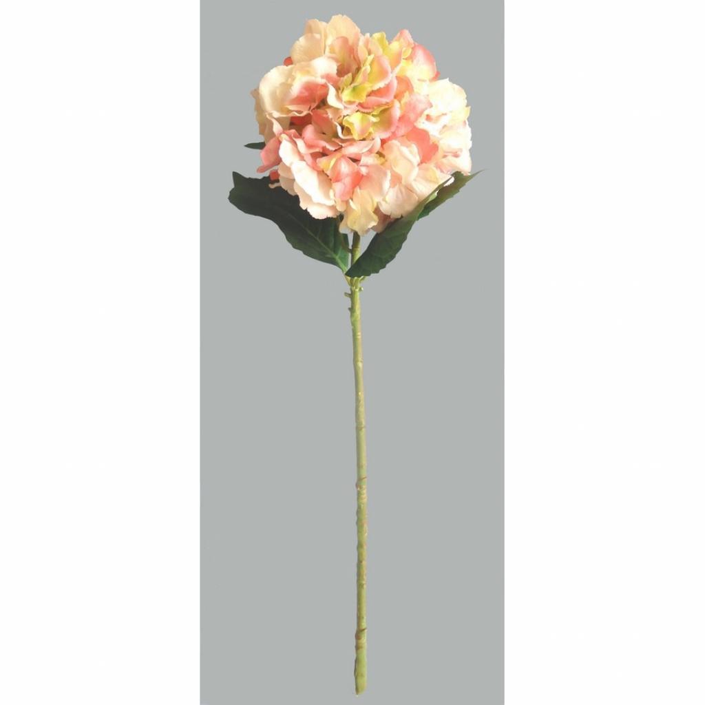 Produktové foto Umělá květina Hortenzie, růžová