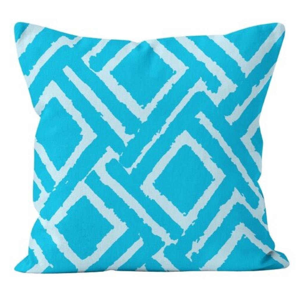 Produktové foto Domarex Povlak na polštář Jane modrá, 45 x 45 cm