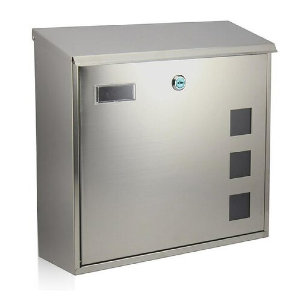 Produktové foto RICHTER BK703.G Poštovní nerezová schránka Cube, stříbrná
