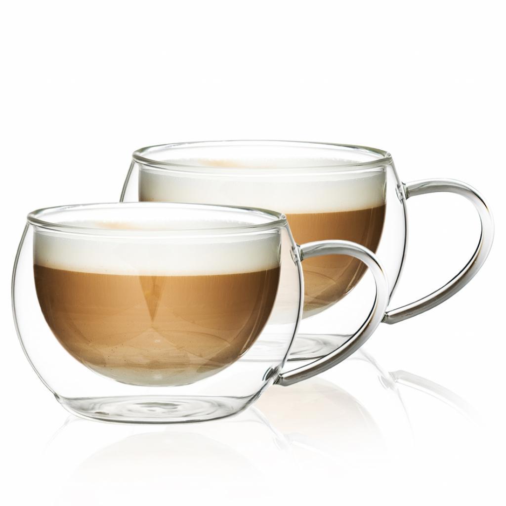 Produktové foto 4Home Termo sklenice na cappuccino Hot&Cool 280 ml, 2 ks