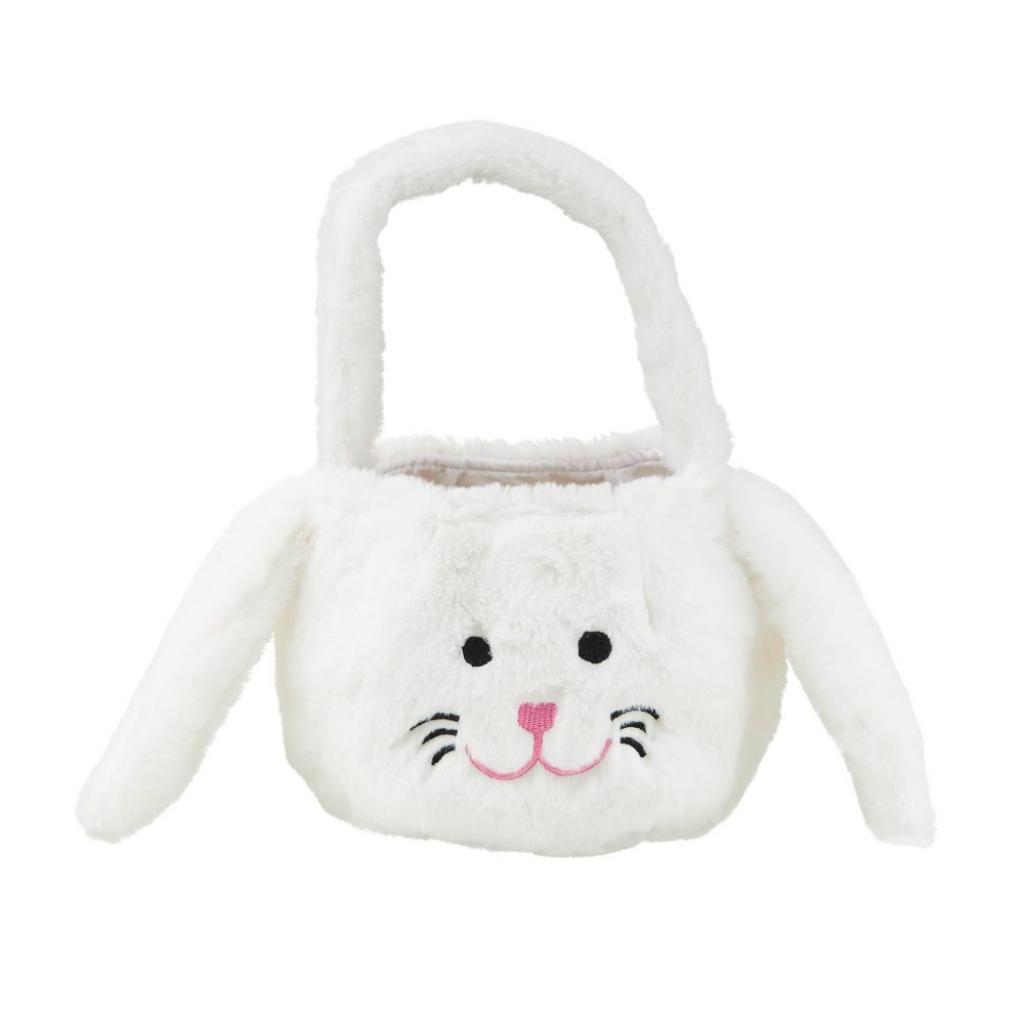 Produktové foto EASTER Plyšový košíček zajíček