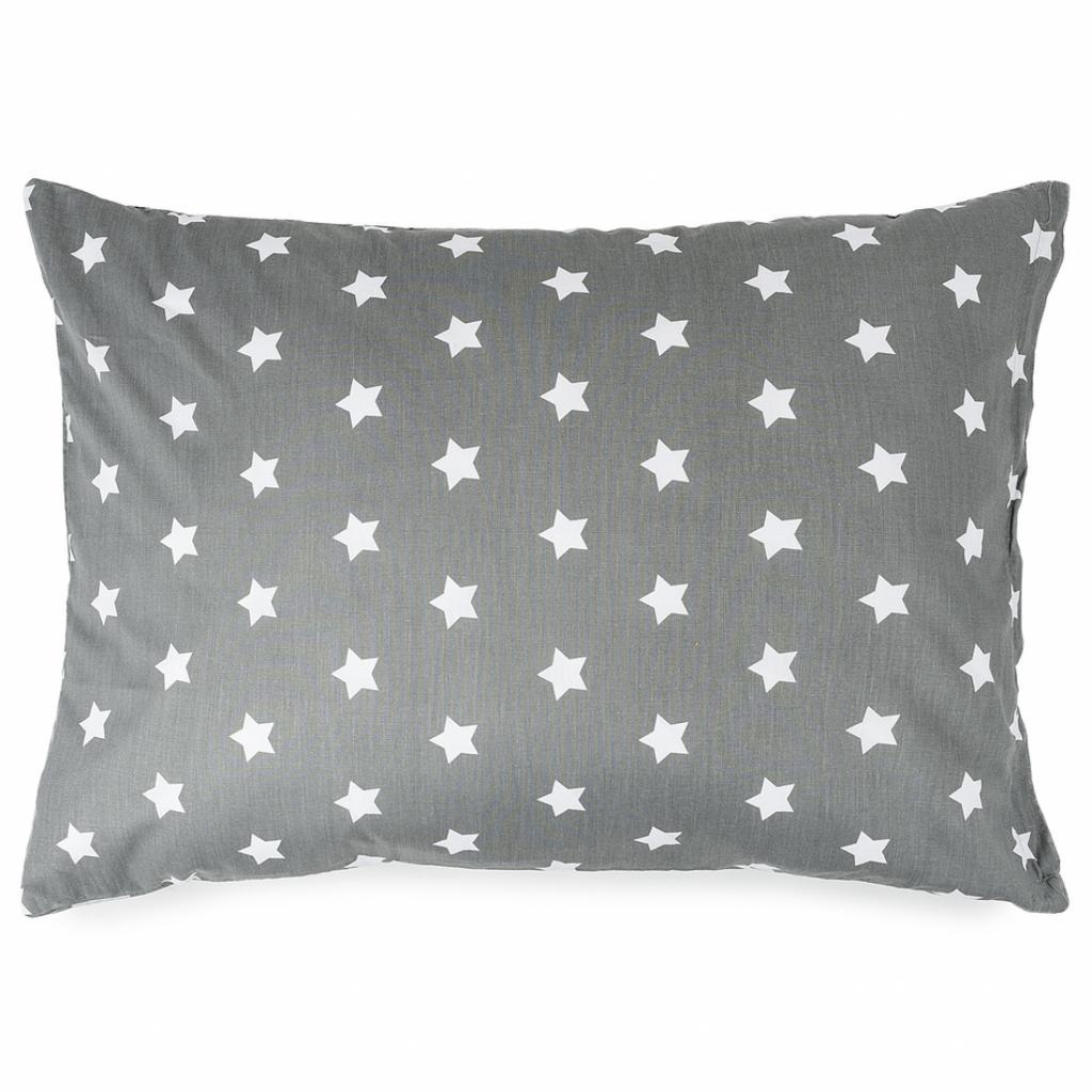 Produktové foto 4Home Povlak na polštářek Stars šedá, 50 x 70 cm